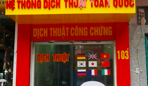Dịch thuật tiếng Hàn tại Nha Trang